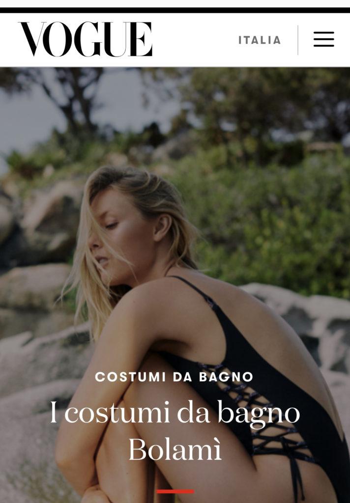 Bolamì for VOGUE Italia